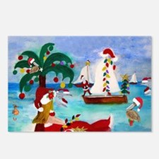 Christmas Boat Parade Postcards (Package of 8)