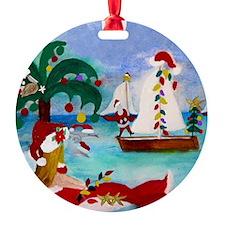 Christmas Boat Parade Ornament