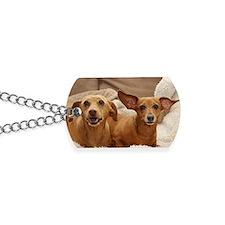 Dachshund Birthday Card Dog Tags