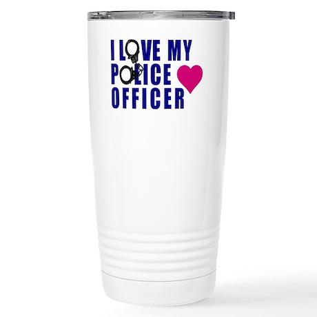I love my Police Office Stainless Steel Travel Mug