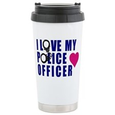 I love my Police Office Travel Mug