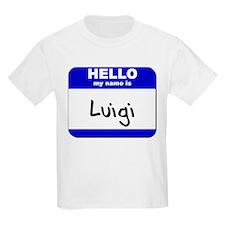 hello my name is luigi T-Shirt
