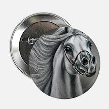 "Arabian Stallion 2.25"" Button"