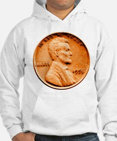 1955 Double Die Lincoln Cent Hoodie