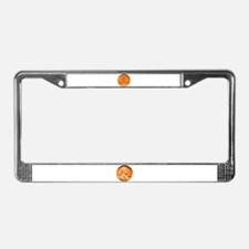 1955 Double Die Lincoln Cent License Plate Frame