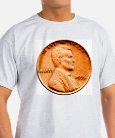 1955 Double Die Lincoln Cent T-Shirt