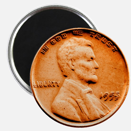 1955 Double Die Lincoln Cent Magnet