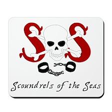 Scoundrel logo Mousepad