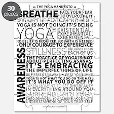 Yoga Manifesto by United Yogis Puzzle