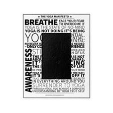 Yoga Manifesto by United Yogis Picture Frame