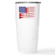 american flag Travel Coffee Mug