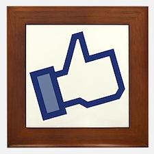 Facebook Like Framed Tile
