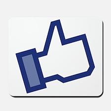 Facebook Like Mousepad