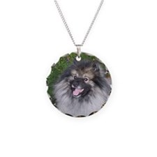 Keeshond Smiling Necklace