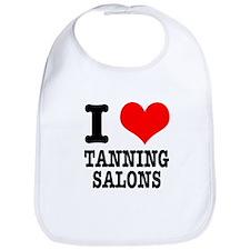 I Heart (Love) Tanning Salons Bib