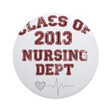 Class of 2013 Round Ornament