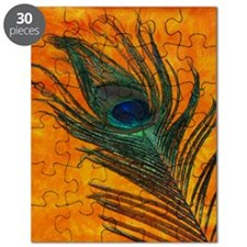Peacock wth Orange Puzzle