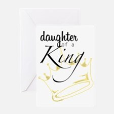 Daughter of a King Greeting Card
