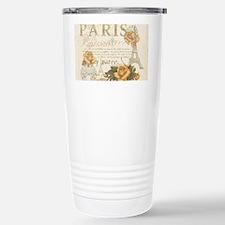 Vintage Paris Stainless Steel Travel Mug