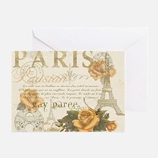 Vintage Paris Greeting Card