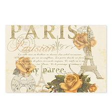 Vintage Paris Postcards (Package of 8)