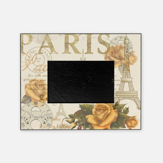 Vintage Paris Picture Frame