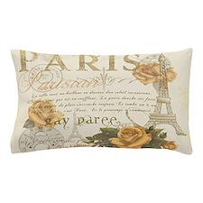 Vintage Paris Pillow Case