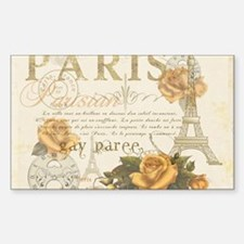 Vintage Paris Decal
