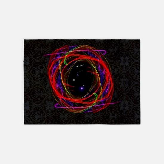 Portal / Starry Void 5'x7'Area Rug