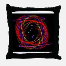 Portal / Starry Void Throw Pillow