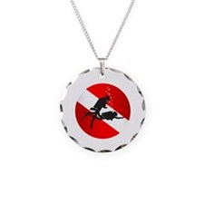 Divemaster (Round) Necklace