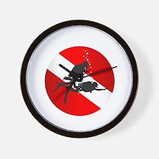 Divemaster (Round) Wall Clock