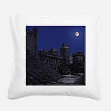 Fougeresmouse Square Canvas Pillow