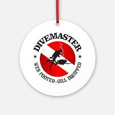 Divemaster (Round) Round Ornament