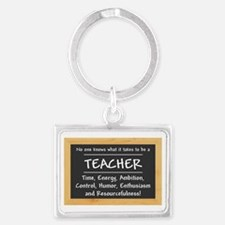 What it takes to be a Teacher Landscape Keychain