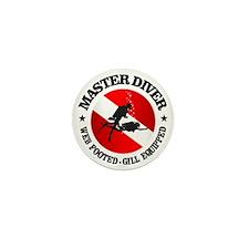 Master Diver (Round) Mini Button