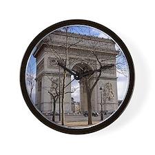 arc de triompheday Wall Clock