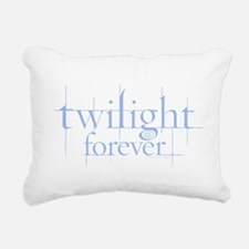Twilight Forever Logo Light Blue Rectangular Canva