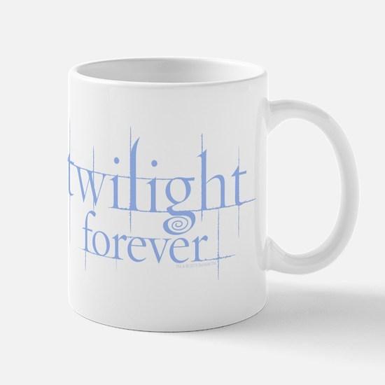 Twilight Forever Logo Light Blue Mug