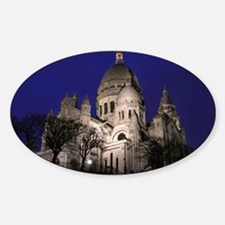Sacre Coeurmouse Sticker (Oval)