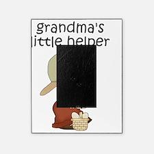 Grandmas Chicken Helper Boy Picture Frame