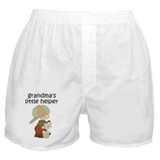 Grandmas Chicken Helper Boy Boxer Shorts