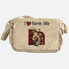 I Love Farm Life Messenger Bag