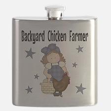 Backyard Chicken Farmer Flask