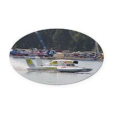 2013 U-9 Hydroplane Oval Car Magnet