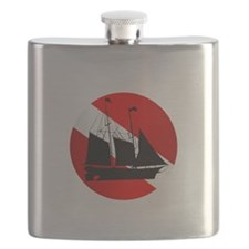 Wreck Diver (Ship) Flask