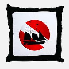 Wreck Diver (Ship) Throw Pillow