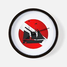 Wreck Diver (Ship) Wall Clock