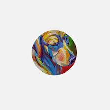Golden #7 Mini Button