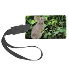 Baby Bunny Munch Luggage Tag